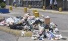 Desechos en las calles de Caracas / Foto: Lisandro Casaña
