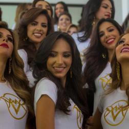 Candidatas al Miss Venezuela 2019 / Foto EFE