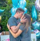 Georgina Palacios y su esposo Gabo Parisi informaron este a través de su cuenta en Instagram el sexo de su bebé