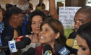 Secretaria de Reclamo del sindicato de la Cancillería / Foto: Lisandro Casaña
