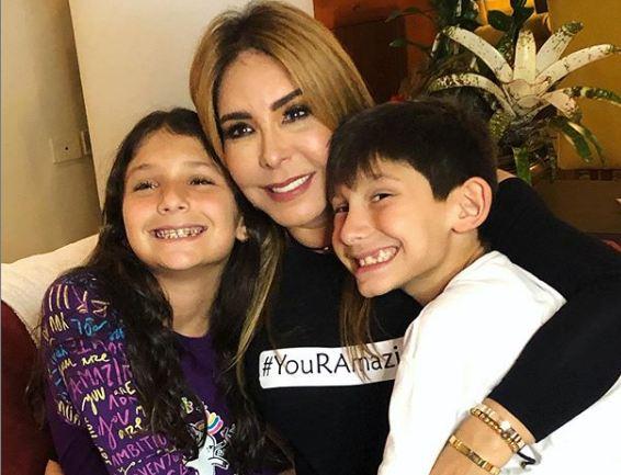 viviana gibelli y sus hijos