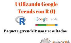 Google Trends y R