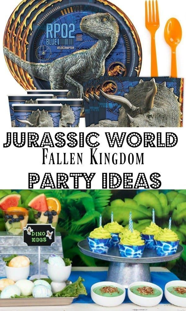 Jurassic World Theme Party Ideas An Alli Event