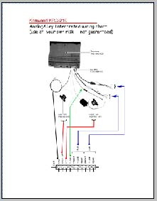 Kenwood KRC210 Wiring Connection Diagram, Analog Alley
