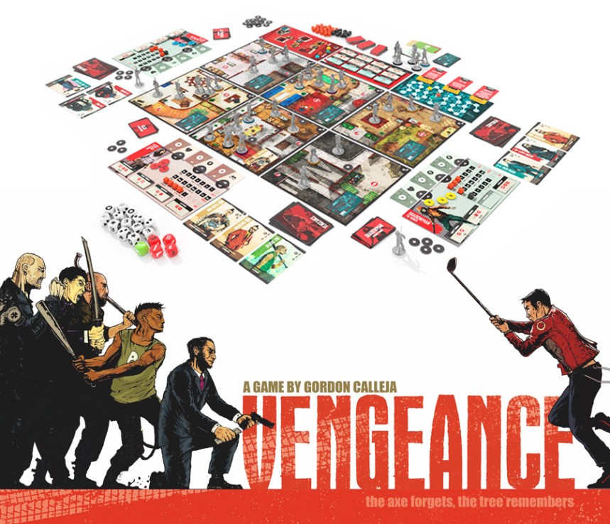Image result for Vengeance board game