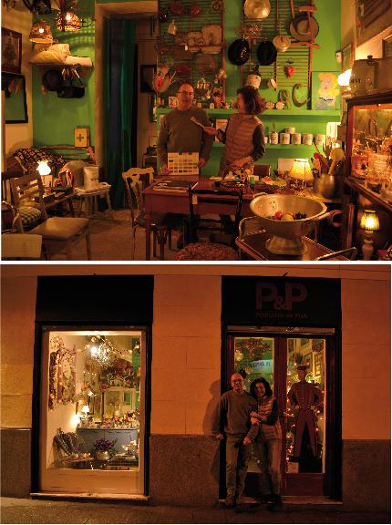 Fotos hechas en la tienda Popurrí de Fua en Madrid