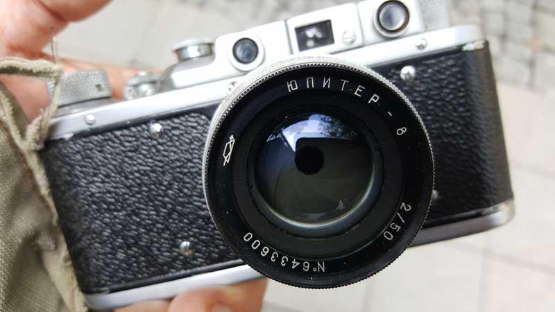Zorki 1, Jupiter-8 f2./50mm