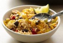 Photo of ارز بالدجاج و الفاصوليا