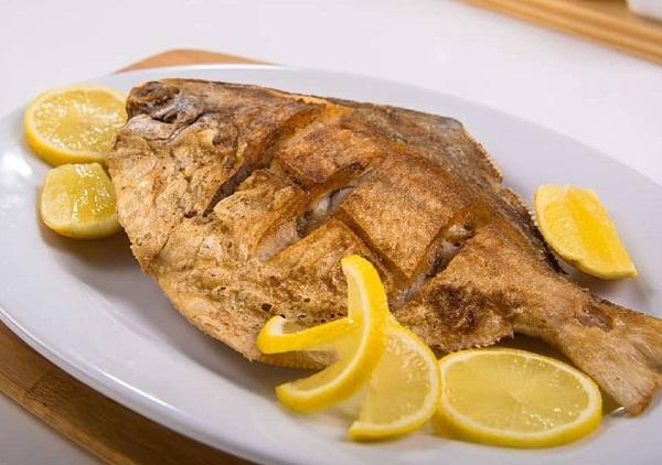 سمك زبيدى مقلى
