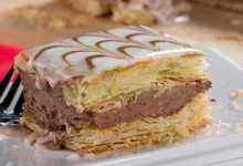 Photo of طريقة عمل تورتة الميل فاى بالشوكولاتة