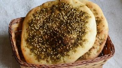 Photo of طريقة عمل خبز بالزعتر