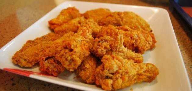 طريقة عمل أجنحة الدجاج المقرمشة فى البيت