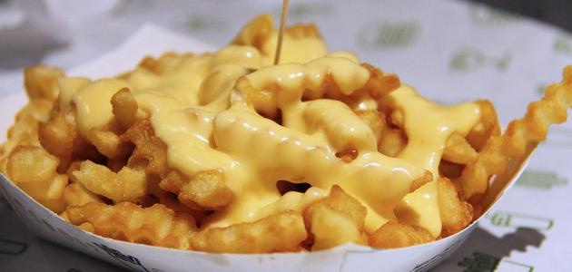 طريقة عمل صوص الجبن للبطاطس