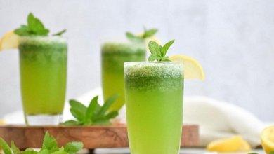 Photo of عصير الليمون بالنعناع