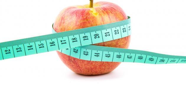 اهمية التفاح لانقاص الوزن