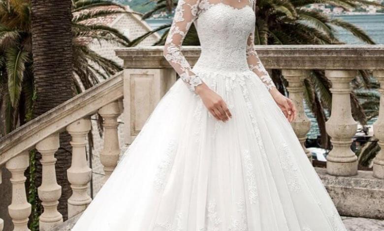 احدث وأجمل فساتين الزفاف 2020