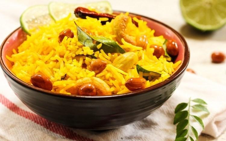 طريقة عمل الأرز بالكاري الهندي