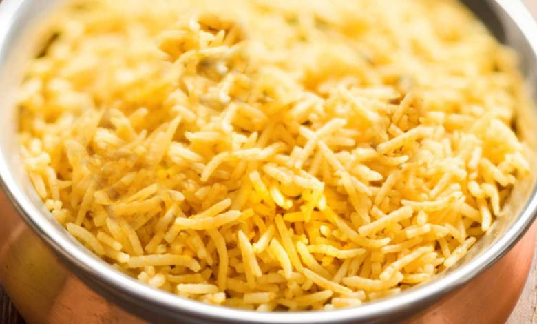 طريقة عمل الأرز البرياني السادة