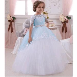 أزياء فساتين أطفال منفوشة