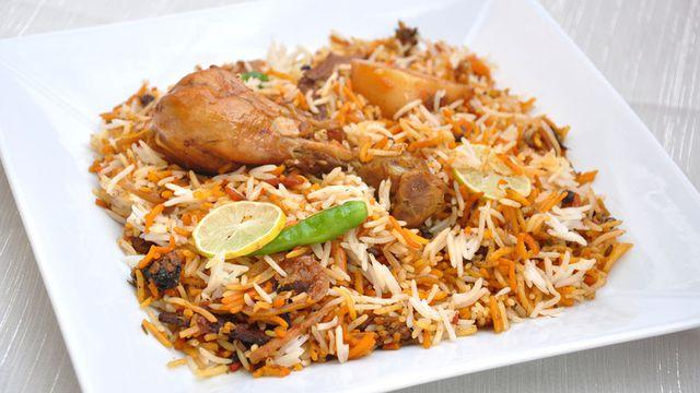 طريقة عمل البرياني الهندي بالدجاج
