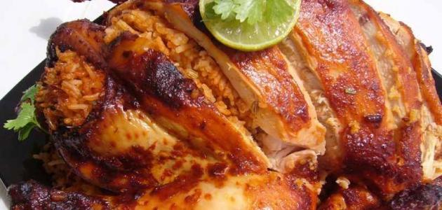طرق مختلفة لعمل دجاج محشى