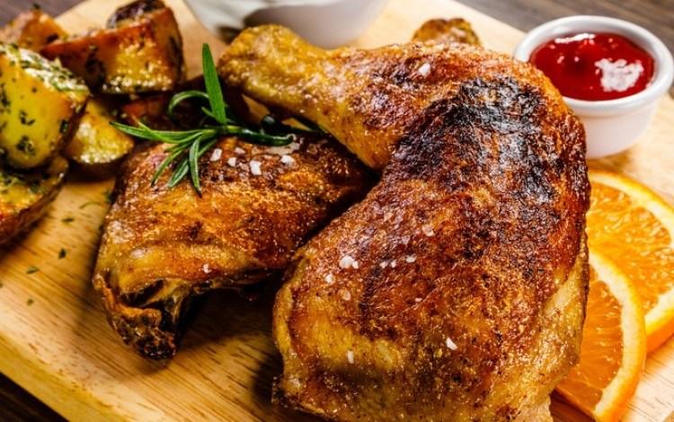 طريقة عمل دجاج مشوى بصوص الصويا للرجيم