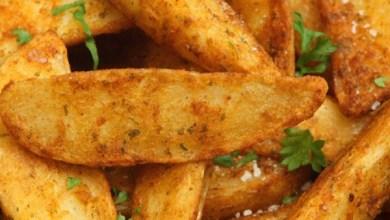 Photo of طريقة عمل أصابع البطاطس المشوية