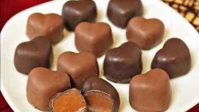 Photo of طريقة عمل قلوب الشوكولاته بالكراميل