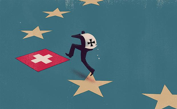 ΕΙΚΟΝΑ---Ελβετία Το νομισματικό σοκ της Ελβετίας