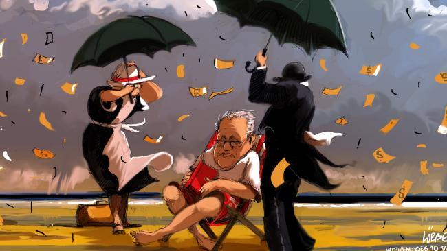ΕΙΚΟΝΑ---γενική,-καταιγίδα,-οικονομία Η άφιξη της καταιγίδας