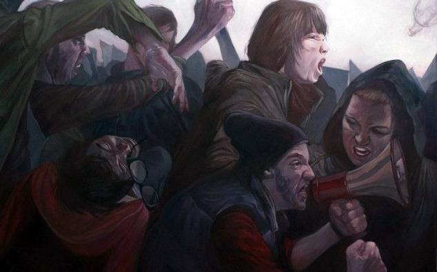 ΕΙΚΟΝΑ---επανάσταση Η μεσαία τάξη σε απόγνωση
