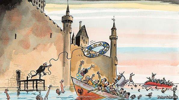 ΕΙΚΟΝΑ - Ευρώπη, μετανάστευση