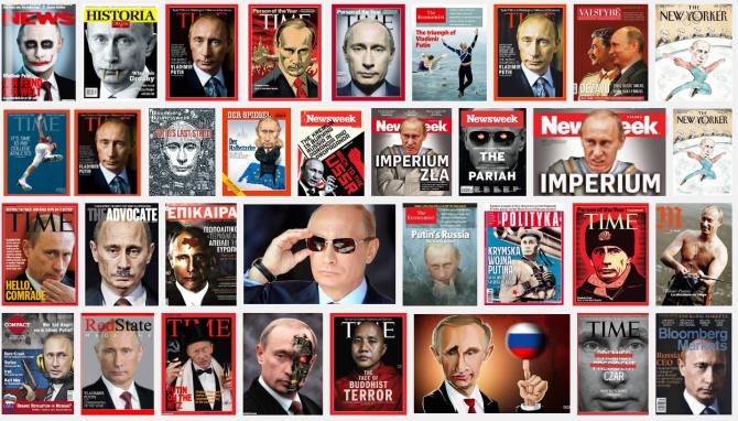 Τα περισσότερα καθεστωτικά ΜΜΕ προειδοποιούν ότι, δεν πρέπει να εμπιστεύεται κανείς τη Ρωσία - ειδικά τον πρόεδρο της, ο οποίος είναι η ενσάρκωση του διαβόλου