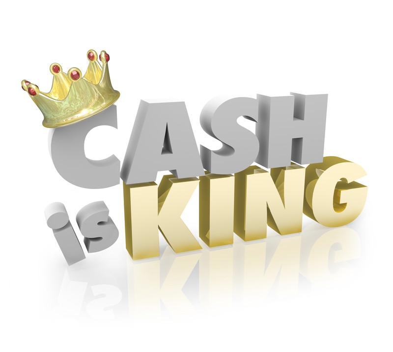 Τα μετρητά είναι βασιλιάς