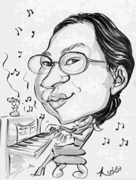Anne Ku, caricature 1998