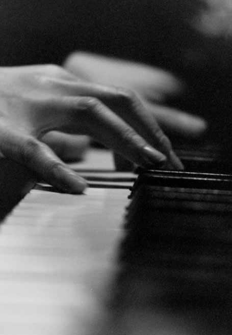 On Chappell Piano. Photo: Jacqueline Stretton-Chang, London