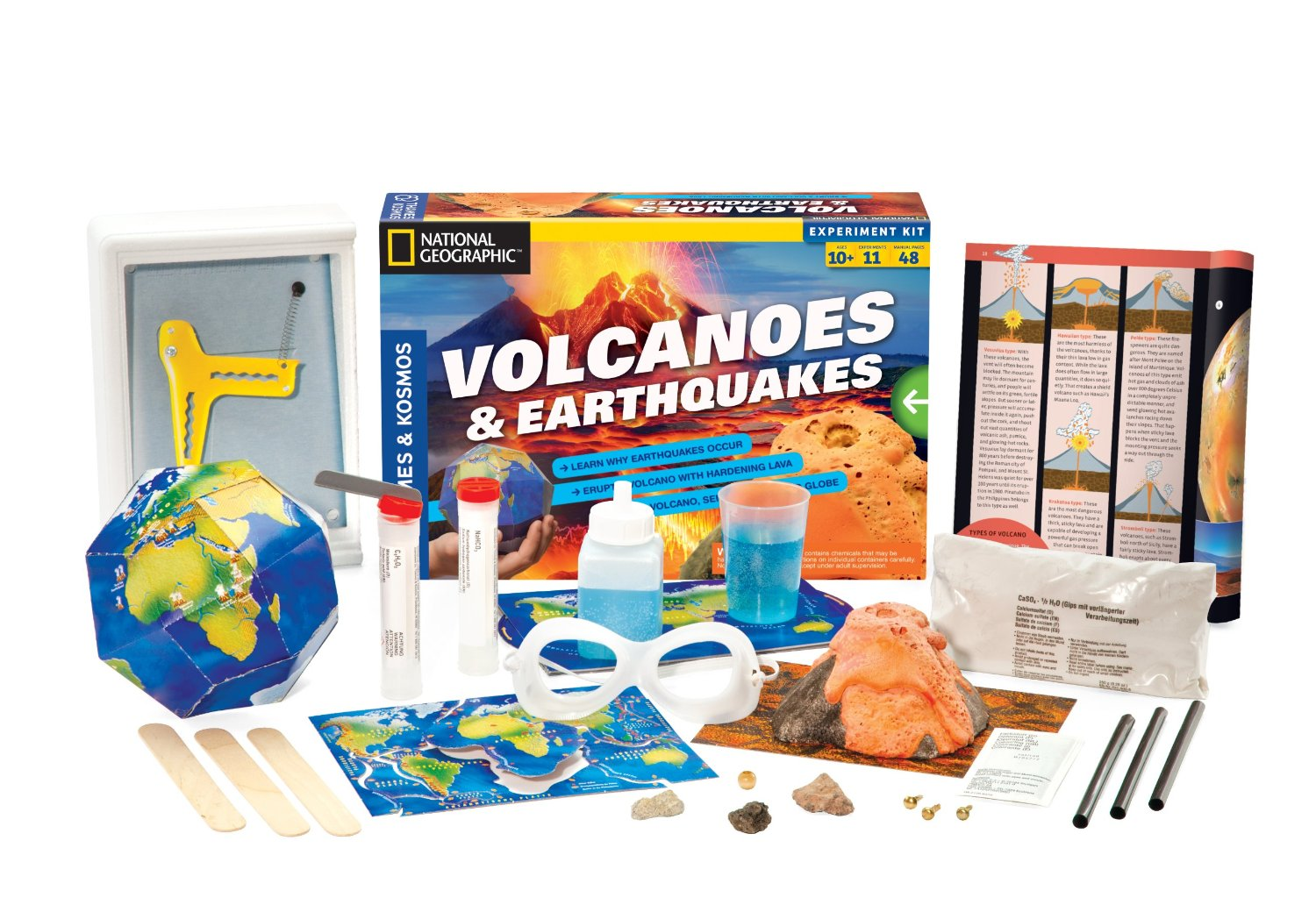 Volcanoes Amp Earthquakes Science Kit