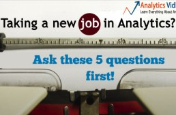 Taking a new job in Analytics? Ask these 5 questions first!