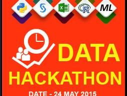 Data Hackathon by Analytics Vidhya & GL, Gurgaon, India, 24th May 2015