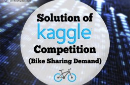 Kaggle Bike Sharing Demand Prediction – How I got in top 5 percentile of participants?