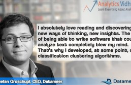 In Conversation with Mr.Stefan Groschupf, Founder and CEO, Datameer