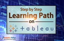 Learning path for Tableau – visualization tool with awesome execution capabilities!