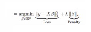 lasso regression, l1 regularization