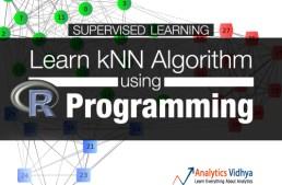 Best way to learn kNN Algorithm using R Programming
