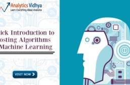 Quick Introduction to Boosting Algorithms in Machine Learning