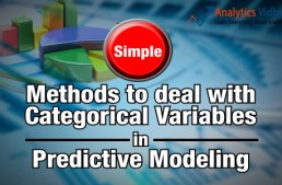 Simple Methods to deal with Categorical Variables in Predictive Modeling
