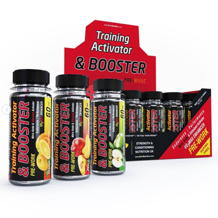 TRAINING ACTIVATOR & BOOSTER