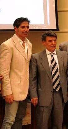 Giancarlo Fornei a Catania 3 luglio 2017 - con il Presidente Centro Anam Catania Salvo Ruffino