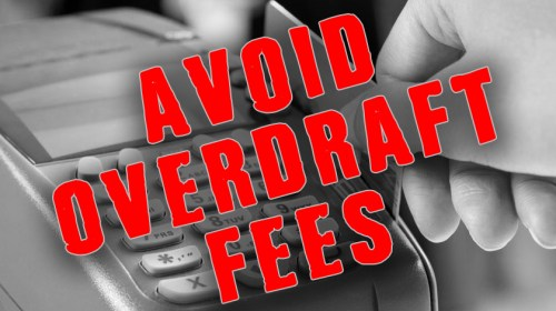 How to Avoid Overdraft Protection Fees at the Bank