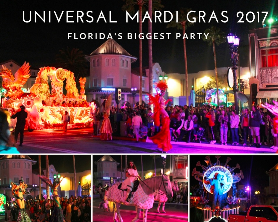 Universal Mardi Gras 2017 | Get Ready For Florida's Biggest Party